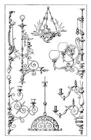 Black Chandelier Clip Art Vintage Chandelier Clip Art Old Design Shop Blog