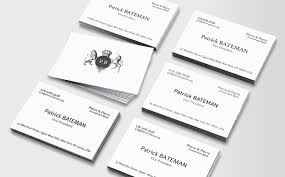 Moo Luxe Business Cards Moo Com Luxe Business Cards Patrick Bateman Products I Love
