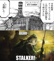 Manga Memes - chernobyl in manga have the marked one gone kawaii by
