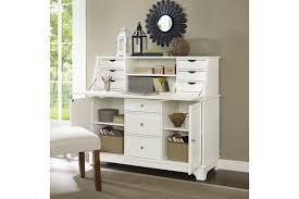 Secretary Desk Modern by Sullivan Secretary Desk In White Finish By Crosley Ship