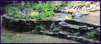 borders and retaining walls premier ponds dc md va pond
