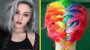 10 weird hair trends youtube