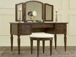 Mirrored Makeup Vanity Table with Bedroom Dazzling Accessories Mirrored Makeup Vanity Table