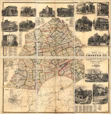 Pennsylvania County Map by Pagenealogy Net Pennsylvania Historical Maps