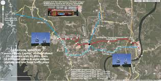 Cable Car Map Connecting Branson The Gondola Project