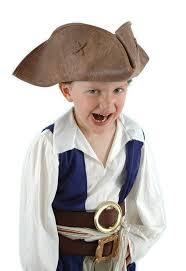 Jack Sparrow Halloween Costume Amazon Elope Jack Sparrow Hat Brown Kid Size Clothing
