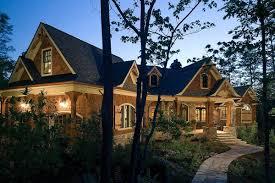 stunning rustic craftsman home plan 15626ge architectural