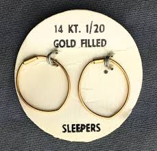 earring remover sleeper earrings these were self piercing earrings you d put