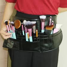 makeup artist belt multifunction makeup brush bag pvc apron bag professional makeup