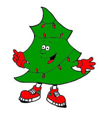 The Christmas trees can be