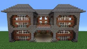 Brick Home Designs Minecraft Tutorial Brick House 2 Youtube