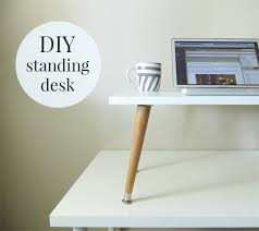 the 22 diy standing desk made with ikea parts diy standing desk