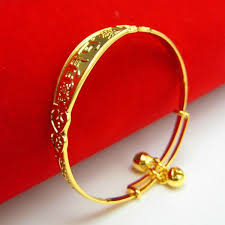 bracelet gold bangle images The baby 39 s gold bracelet 999 thousand gold bracelets child jpg