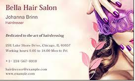 Business Cards Hair Stylist Hair Salon Business Cards Get Templates Today