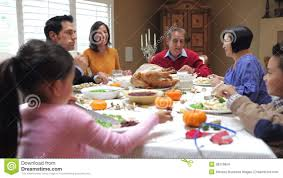 family at thanksgiving dinner multi generation family enjoying thanksgiving meal stock footage