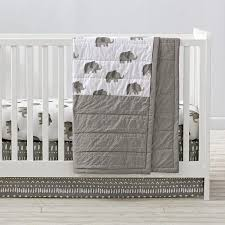All White Crib Bedding And White Elephant Crib Bedding And Quilt