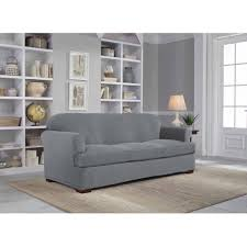 living room awesome cream slipcovers for sofas with cushions