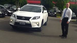 2013 lexus rx 350 video review the best 2013 lexus rx350 f sport review on youtube youtube