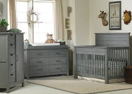 Grey Convertible Cribs Channing Convertible Crib Bel
