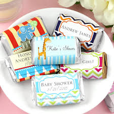 personalized baby shower favors exclusive personalized assorted hershey s mini baby shower favors