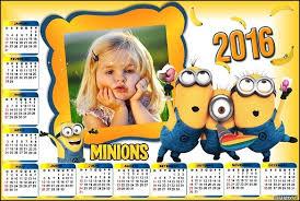 fotomontaje de calendario 2015 minions con foto hacer fotomontaje calendario 2016 de minions fotomontajes infantiles