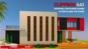 modern shipping container homes plans and modular prefab design