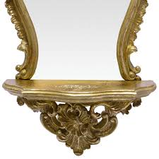 barock spiegel gold spiegel gold oval wall bracket baroque gold shelf 38x20 mirror