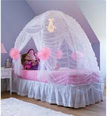 fairy tale bed tent in kids room decor