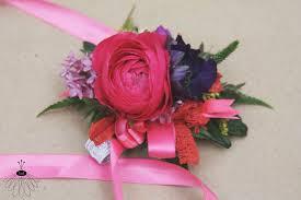 Red Rose Wrist Corsage Wrist Corsage U2013 Little Miss Lovely Floral Design