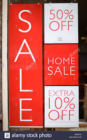 promotional poster advertising sale money clearance items