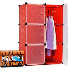 2016 sale new armoire 6 cubes environmental simple wardrobe diy