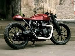 garage redesign bonneville redesign project built by garage built bikes of england