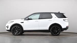 land rover white 2015 used land rover discovery sport 2 0 td4 180 hse black 5dr auto