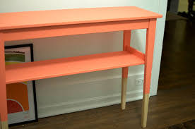 ikea console hack ikea svalbo dipped furniture hack the sweet beast