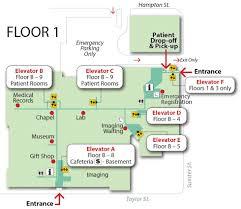 gift shop floor plan baptist campus and floor plan maps palmetto health