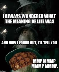 The Meaning Of Meme - confused gandalf meme imgflip