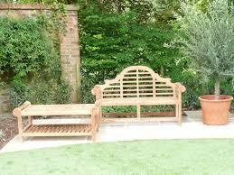 lutyens teak bench u0026 coffee table humber imports uk humber imports
