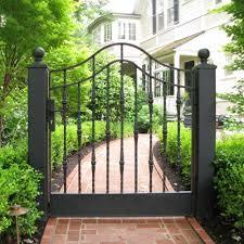 traditional garden gate todd mcmurray design