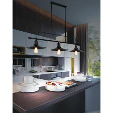 Home Depot Kitchen Lights Brave 3 Light Black Chandelier 9605p46 3 101 The Home Depot