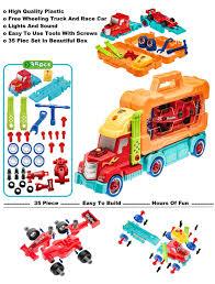 amazon com prextex 35 piece take a part do it yourself truck