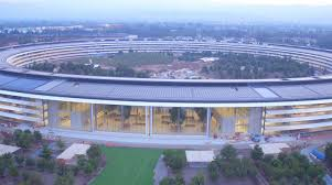 new drone video shows apple park landscaping u0026 construction