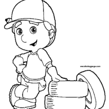 tool coloring pages coloring pages handy manny kids drawing and coloring pages