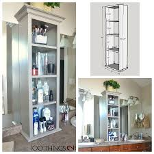 Bathroom Storage Vanity by Bathroom Storage Tower 100 Things 2 Do