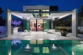contemporary mediterranean house a private paradise
