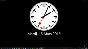horloge bureau windows 8 horloge bureau windows 8 28 images recevoir horloge parlante