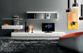 Contemporary Homes Interior by Minimalist Tv Stands In Trendy Living Room Interiors
