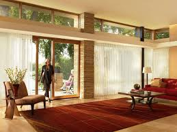 Window Treatments For Patio Doors Curtains For Sliding Glass Doors With Vertical Blinds Kitchen