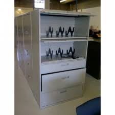 Lateral File With Storage Cabinet Used File Cabinets Storage New Office