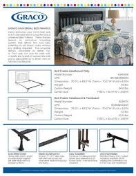 How To Convert Crib To Bed Graco Size Headboard Bed Frame Conversion Kit