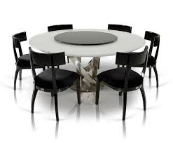 contemporary round dining table and chairs u2014 contemporary
